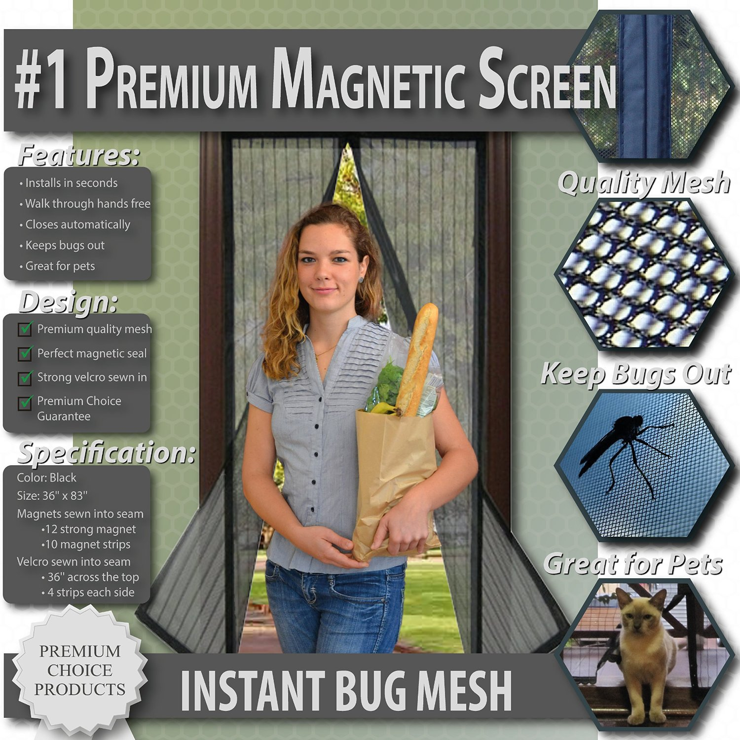 Product Review: Magnetic Screen Door | * Honest Product Reviews AND  Spoiler Free Book Reviews *